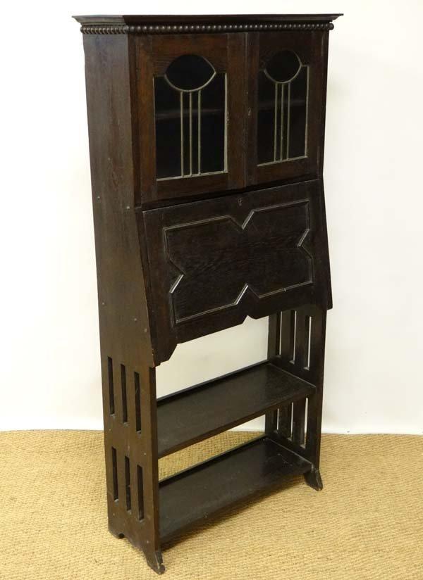 An early 20thC Scottish Art Nouveau students bureau wit