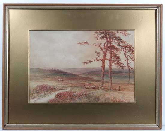 Paul Betra Early XX New Forest Watercolour Hampshire