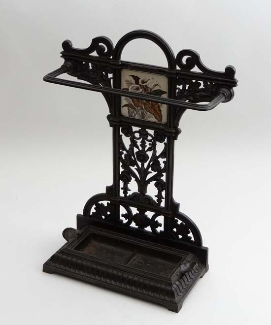 A Victorian ' Coalbrookdale ' ( stamped ) cast iron