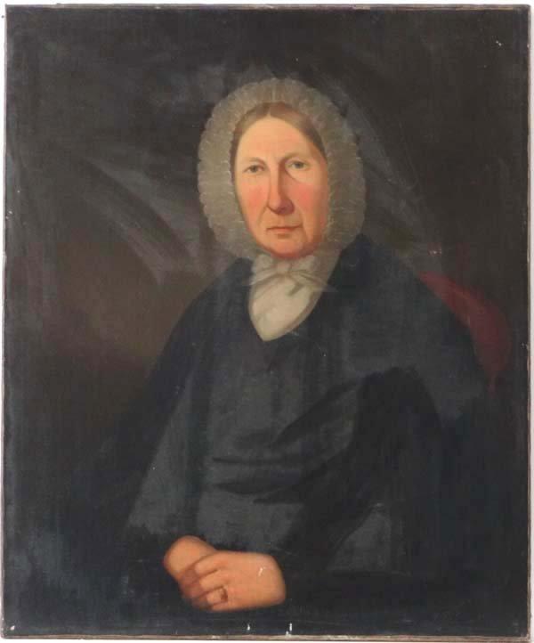 Early XIX Scottish School Oil on canvas Calvinist Portr