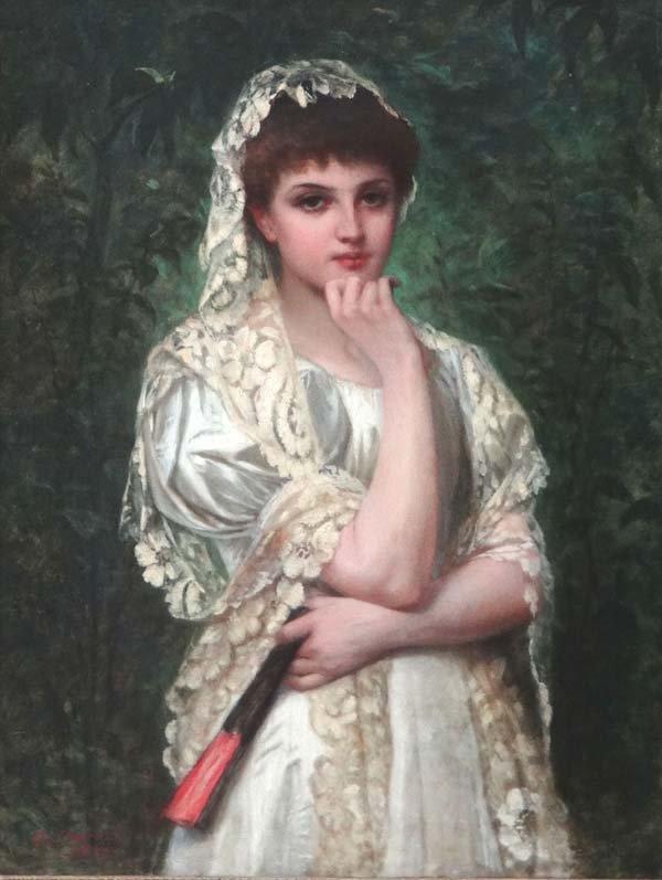 Attilio Baccani (1844-1889), Italian school,  Oil on ca