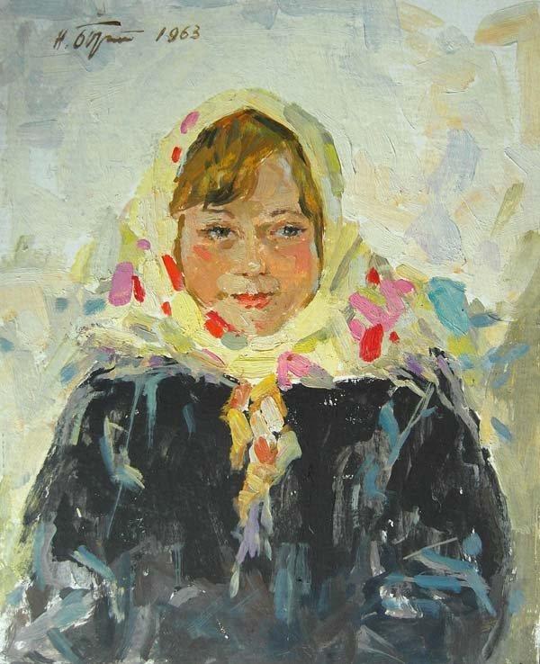 Nikolai Feodorovitch Bortnikov (1916-1997), Russian Sch