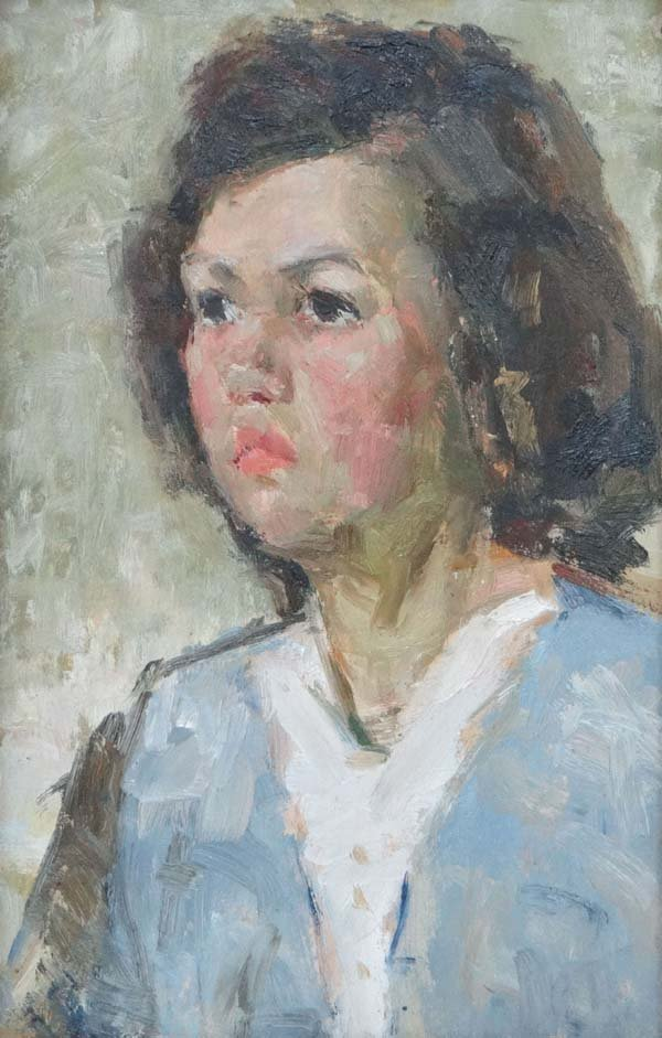 Vladimir Grigorevich Vlasov (1927-2001) Ukraine Oil on