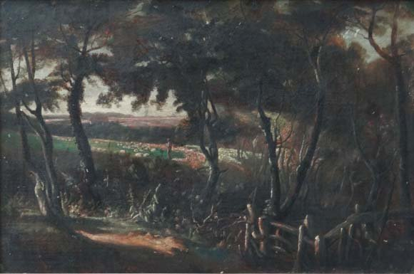 Arthur Evershed (1836-1919) Oil on canvas (unusual) '