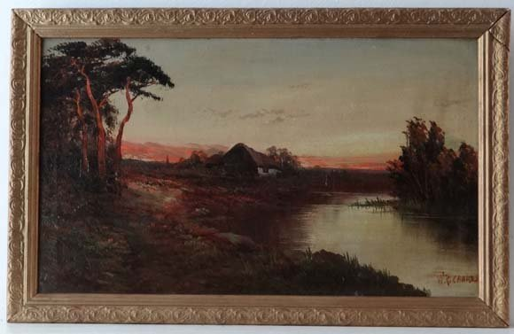 W Frances E Jamieson Richards (1895-1950)  Oil on canva