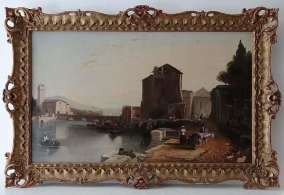After James Baker Pyne (1800-1870) Oil on canvas A Nort