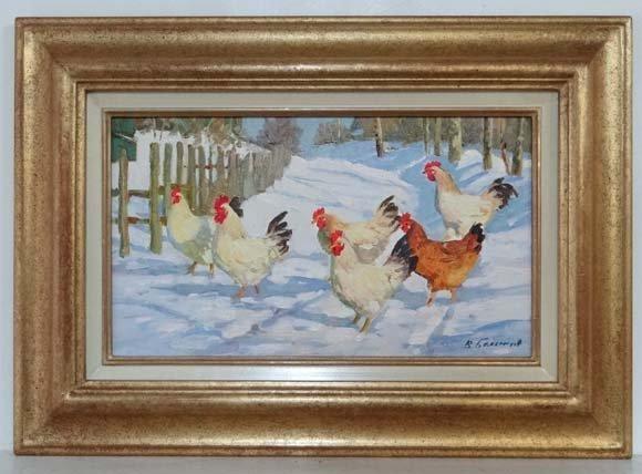 Vladimir Belsky (b.1957), Russian School  Oil on canvas