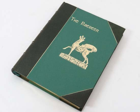 Book : Snaffle The Roedeer A Monograph published by