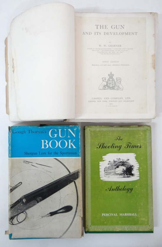 Books : Three books on shooting comprising Gough