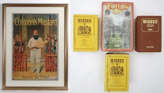 Cricket : Vintage poster (Robert Opie Collection) with
