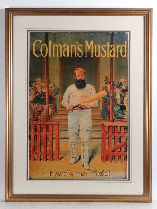 Cricket : Vintage poster (Robert Opie Collection) with - 3