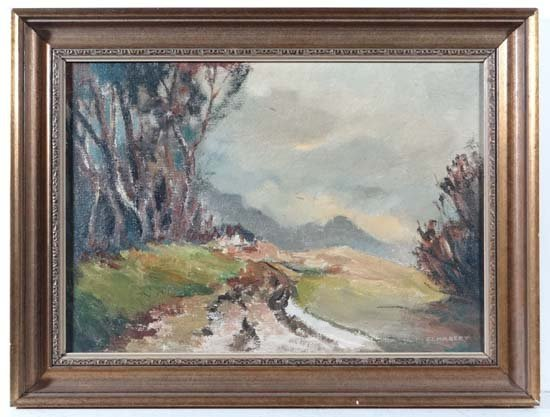 F J Hulbert mid-late XX Oil on artist's board 'The