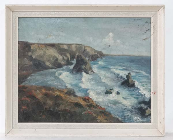 Miss Cherie Williamson XX Oil on canvas Coastal Scene