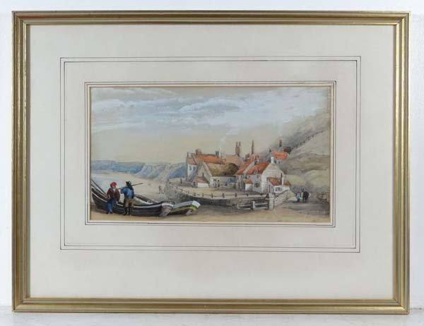 Sarah Parker mid XIX Watercolour and gouache ' Sand's