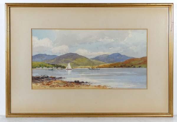 W Inglis Weir early to mid XX Watercolour and gouache '