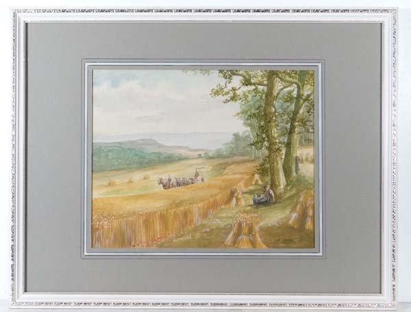 Dorothy Jones Watercolour and gouache highlights