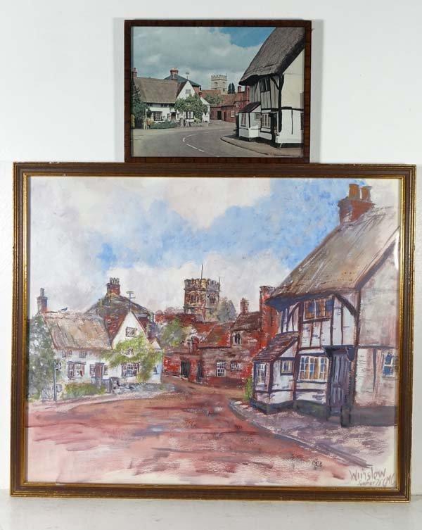 Betty Carpenter XX Watercolour and gouache Horn Street