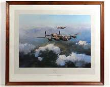 Robert Taylor XX Coloured and signed print  Lancaster