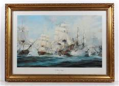 Robert Taylor XX Coloured Print ' The Battle of