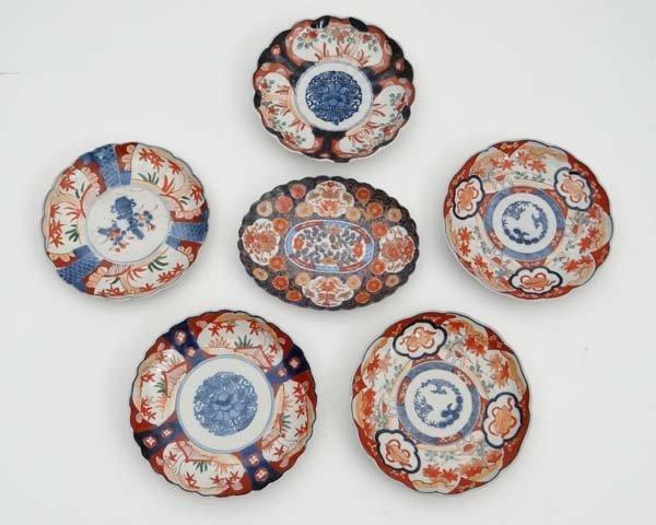 A collection of Japanese Imari ceramics. Circa 19thC,