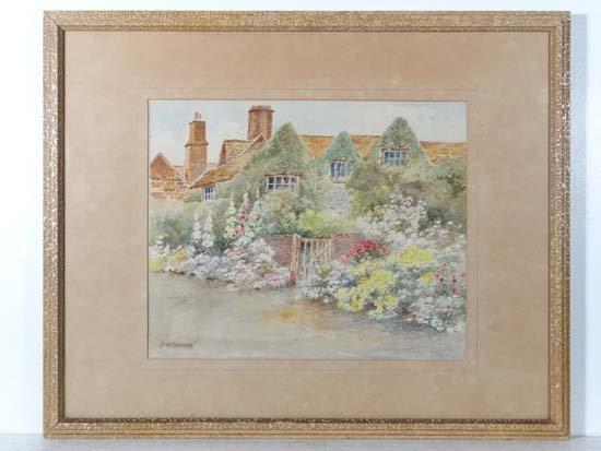 Howard Ormsby Thomas (1908-1971) Watercolour An English