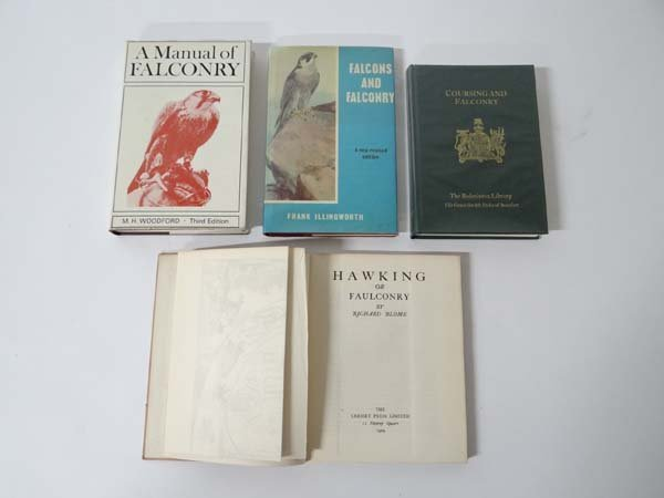 Books : Ricahrd Blome Hawking and Falconry limited