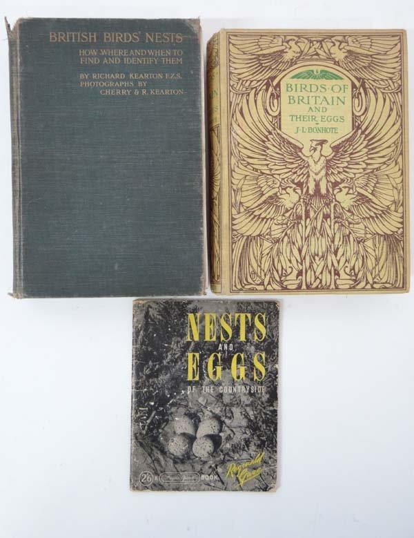 Books : R Kearton British Birds' Nests, with