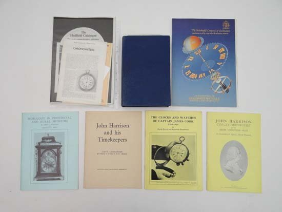 Books : Seven publications on watches and timepieces to