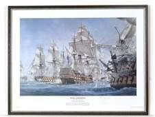 Battle of Trafalgar  A Limited Edition signed