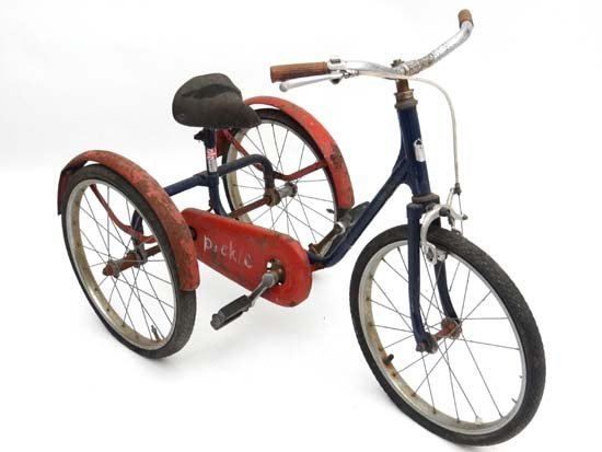 Toy - A Pashley Pickle Childs Tricycle. Made in