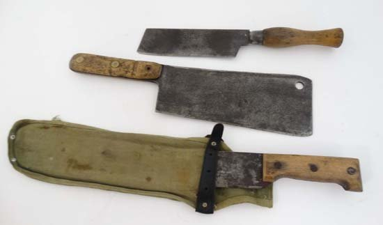A Martindale of Birmingham machete No. 227 with canvas - 3