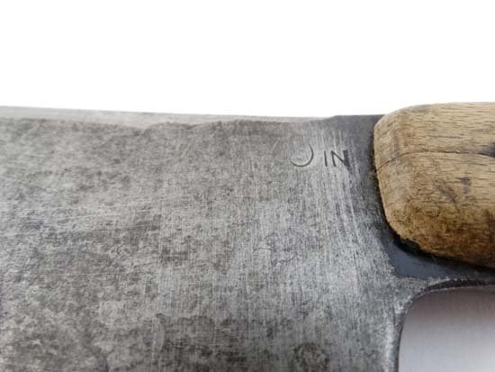 A Martindale of Birmingham machete No. 227 with canvas - 7