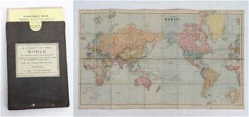 Maps A Chart of the World on Mercators Projection