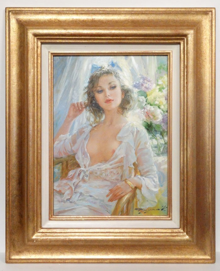 "Konstantin Razumov (b.1974) Russian School, "" Irina "". - 7"