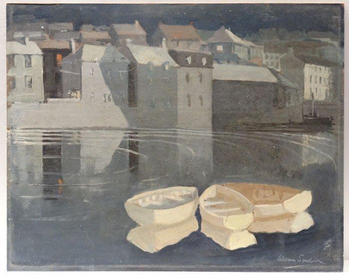 William Scudder XX Cornish. Oil on board, Cornwall