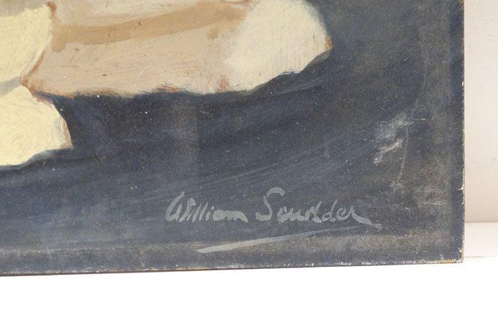 William Scudder XX Cornish. Oil on board, Cornwall - 2