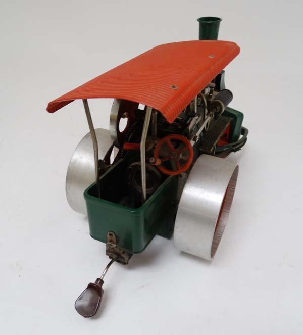 A live steam Wilesco D36 '' Old Smokey '' steam roller. - 2
