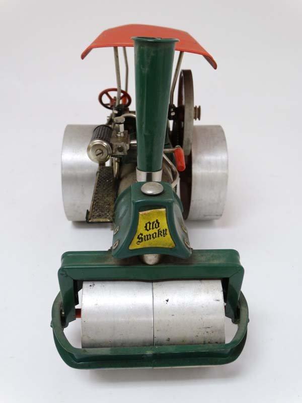 A live steam Wilesco D36 '' Old Smokey '' steam roller. - 6