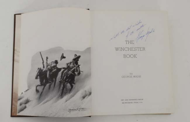 Book: A signed copy of '' The Winchester Book 1 of 1000 - 4
