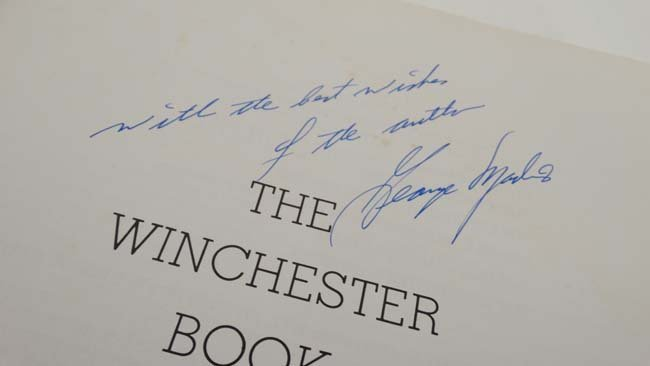 Book: A signed copy of '' The Winchester Book 1 of 1000 - 5