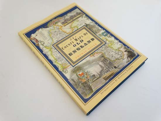 Book: ''The Country Maps of old England'' by Thomas