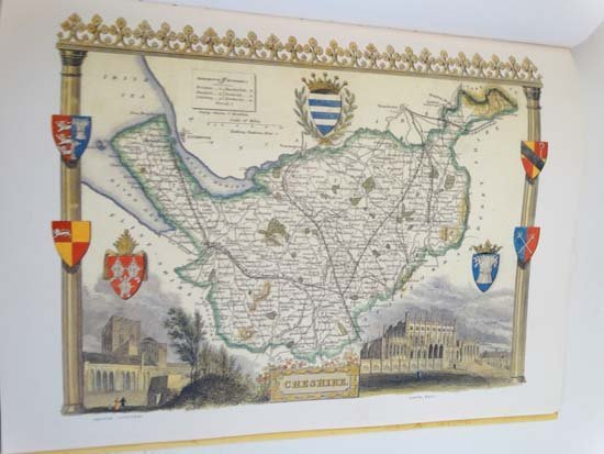 Book: ''The Country Maps of old England'' by Thomas - 2