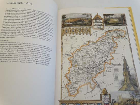 Book: ''The Country Maps of old England'' by Thomas - 3