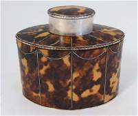A Neo-Classical style late 20thC faux tortoiseshell