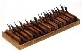 Wood working  Carpenters tools  A collection of 20