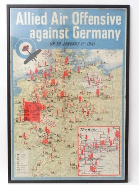 Wwii : A Rare Polychrome Central Office Of Information