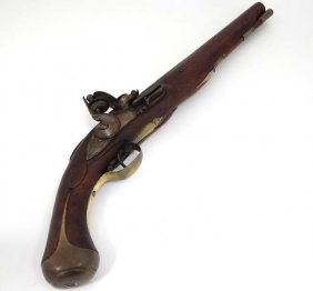 Militaria : A Land Pattern - Like Flintlock Pistol ,