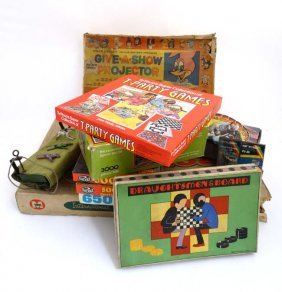 A Collection Of Games And Puzzles To Include; A 1960's