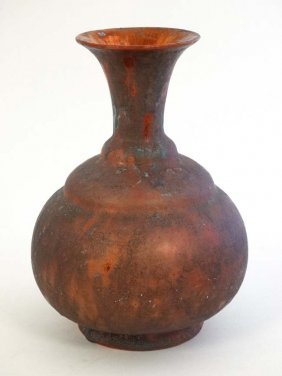 A Delft '' Jacoba '' Pottery Style Earthenware Lustre