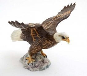 A Beswick Model Formed As A Bald Eagle , Number 1018 In
